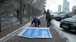 Изготовление и монтаж баннера для Unicef в Астане.(, 2017-02-26T12:58:35.000Z)