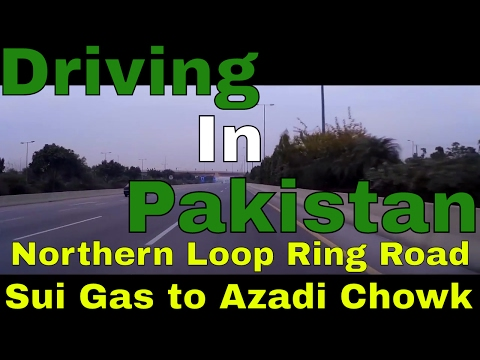 Lahore Ring Road - Sui Gas Society to Azadi Chowk - 23rd January 2017
