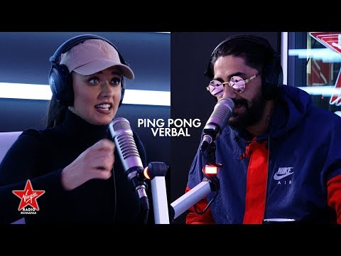 Antonia si Connect-R joaca Ping Pong Verbal