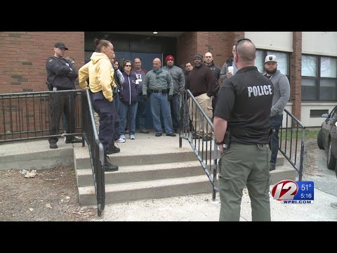 Central Falls police, teachers participate in active shooter drill