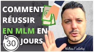 COMMENT REUSSIR EN MARKETING DE RESEAU RAPIDEMENT
