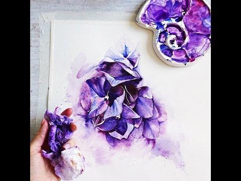 Artist Spotlight On A Self-Taught Watercolorist from Saint Petersburg, Rusia