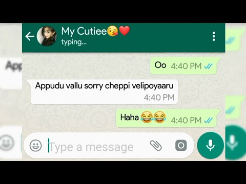 Most 😍 Romantic Chatting ❣️|| Heart Touching Whatsapp Chatting || Funny Chat 😂 😅 B/w Bf And Gf