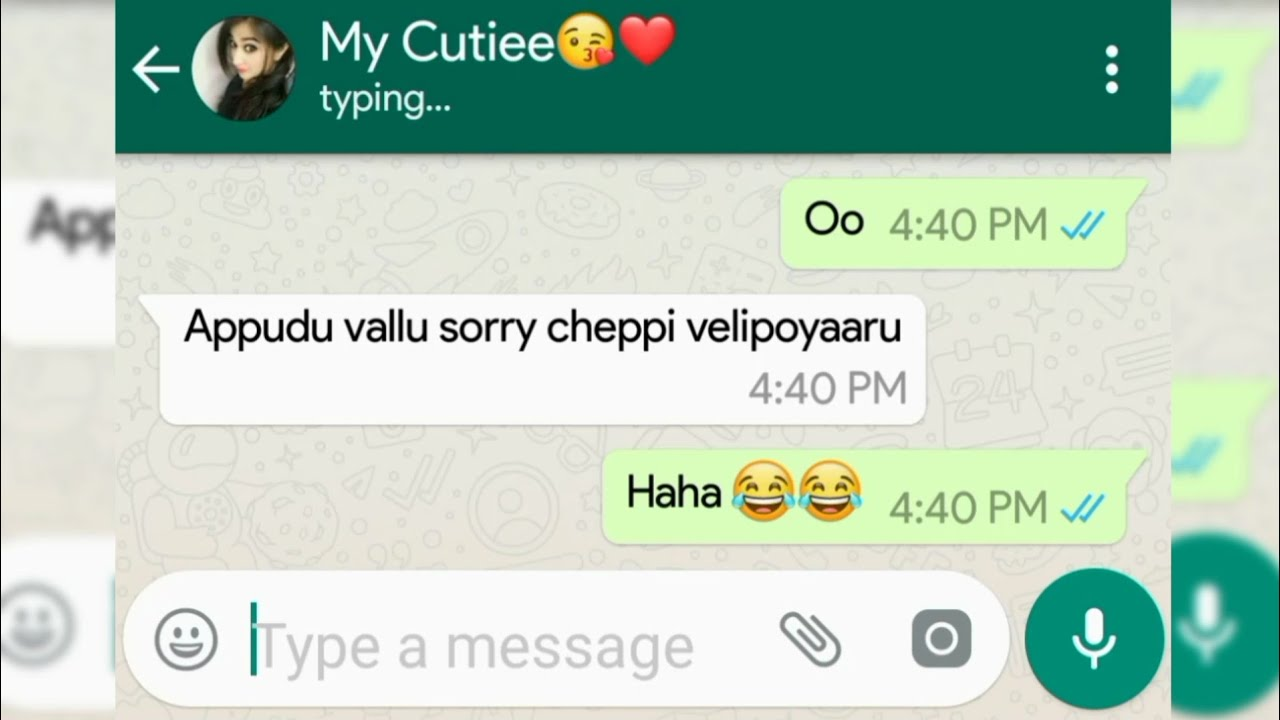 Lovely 😍 Chatting ️|| Heart Touching Whatsapp chatting