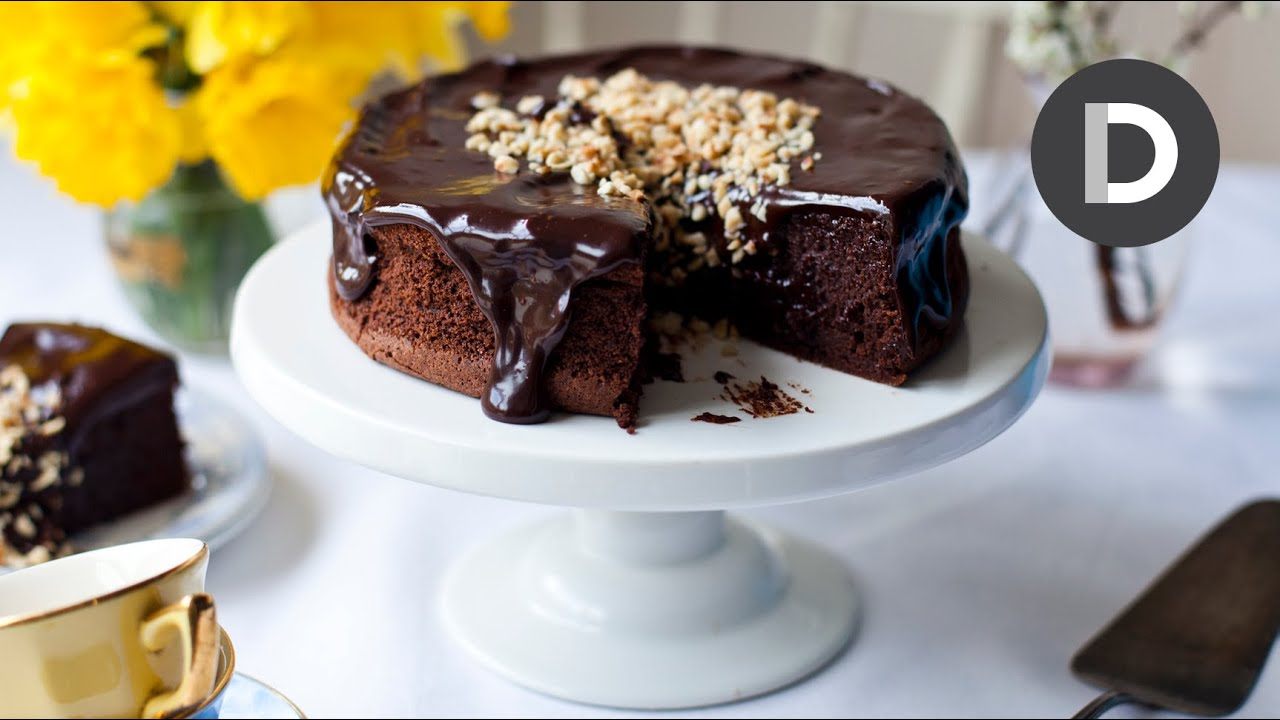 Dark Chocolate Hazelnut Cake Donal Skehan