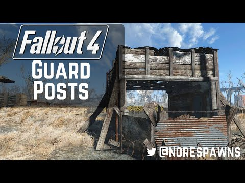Fallout 4 Guide - Guard Post Ideas