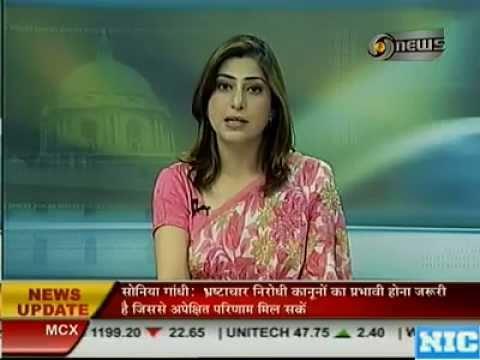 Spicy Newsreaders: Sakal Bhatt of DD news lokking very