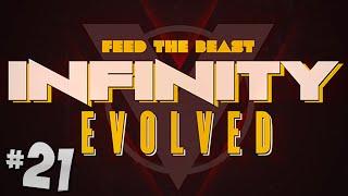 FTB Infinity Evolved - Ep.21 - Dynamo Power!
