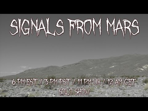Solo Show | Signals From Mars September 24nd, 2021