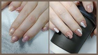 КЛАССНЫЙ ПРОСТОЙ и БЫСТРЫЙ дизайн ногтей Маникюр на клиенте