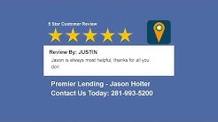 Houston Home Loan Reviews - Jason Holter