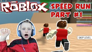 Roblox: Speed Run 4 - Let's play gameplay video - part #1