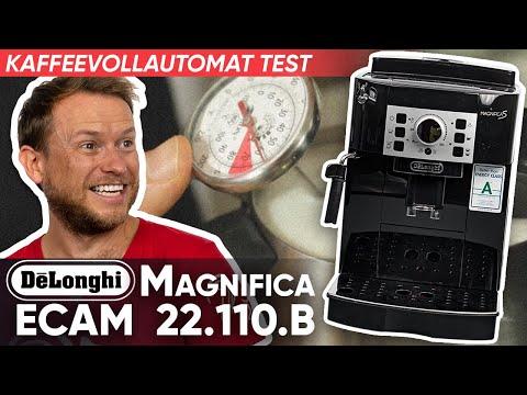 delonghi magnifica s ecam coffee maker unboxing doovi. Black Bedroom Furniture Sets. Home Design Ideas