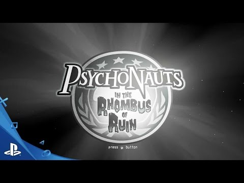 Psychonauts in the Rhombus of Ruin - E3 2016 First Look Trailer | PS VR
