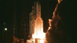 Ariane 5 ECA launches Intelsat 33e/36 satellites