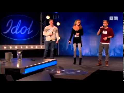 Steffen Jacobsen, Madeleine and christopher idol Norway 2013, 2.round Oslo ...