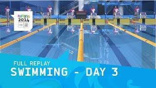 Swimming - Finals Day 3 | Full Replay |  Nanjing 2014 Youth Olympic Games