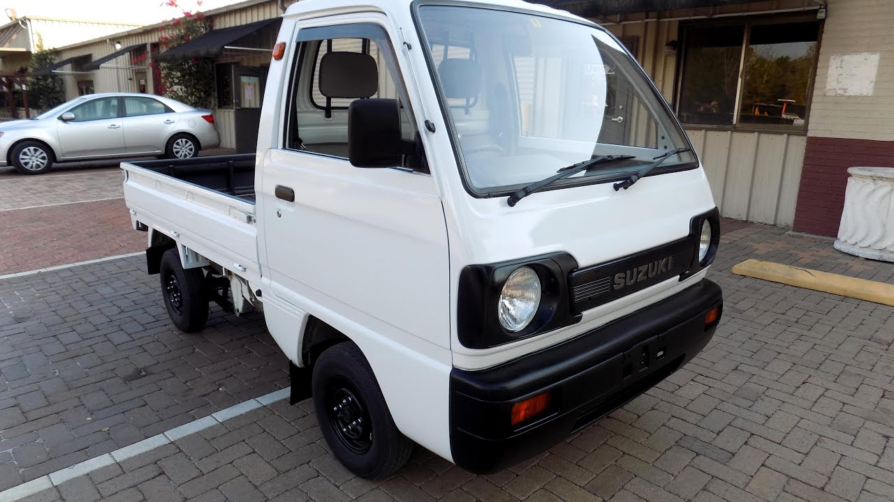 Suzuki Carry 1991 Rwd 31k Miles Kei Mini Pickup Truck