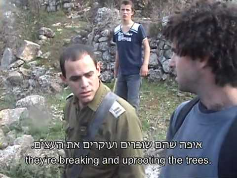 IDF Officer refuses to protect Palestinians קצין צה