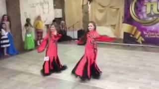 Восточные танцы - дуэт ираки