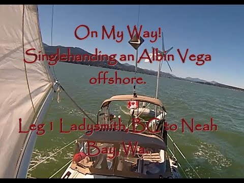 On My Way  - Singlehanding an Albin Vega Offshore -  A Liquid Life