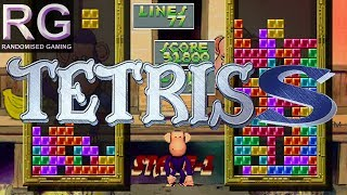 Tetris S - Sega Saturn - Intro and gameplay from Classic and VS. COM modes [HD1080p 60fps]