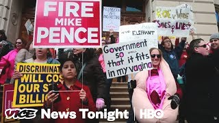 Planned Parenthood prepares to fight  VICE News Tonight on HBO (Full Segment)