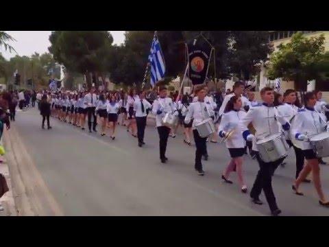 Parade in Nicosia/Lefkosia on March 25th 2016