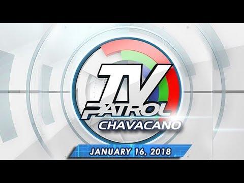 TV Patrol Chavacano - Jan 16, 2018