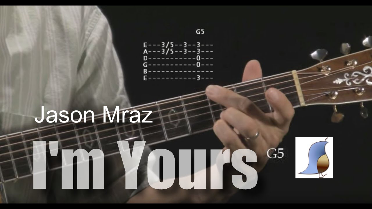 How To Play Im Yours By Jason Mraz Guitar Lesson Youtube
