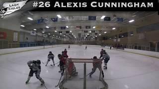 2018-2019 #26 Alexis Cunningham GY 2023 Carolina Lady Eagle Highlights