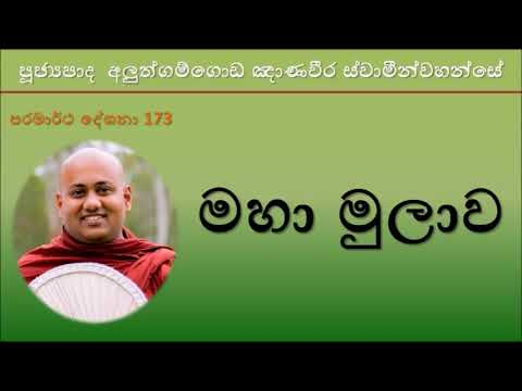 Aluthgamgoda Gnanaweera Thero - මහා මුලාව