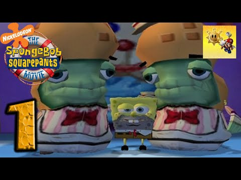 Spongebob Squarepants: The Movie Video Game - Part 1 - Drunkbob!