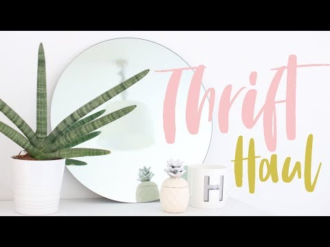 Thrifted Homeware Haul And Decor Styling