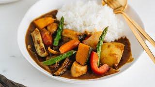 How to Make Vegetarian Japanese Curry (Recipe) ベジタリアンカレーの作り方(レシピ)