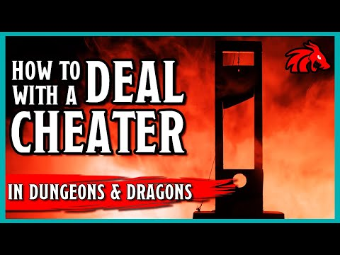How to Deal with a Cheater in D&D
