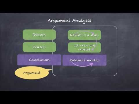 Critical Reasoning -The Structure of Argument