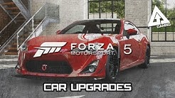 Forza 5 Xbox One Gameplay - Upgrades and Car Customization