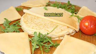 Kahvalti önerisi, yumusacik Krep, yumurtali patates ve mozarella salata tarifi,Nurmutfagi NurGüL