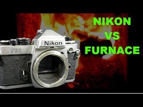 Nikon SLR vs Furnace @1000Degrees Celsius