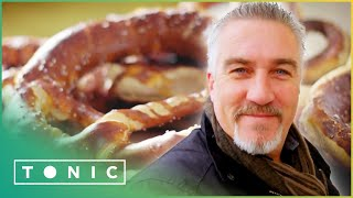 Paul Struggles To Make Pretzels   Paul Hollywood's City Bakes   Tonic