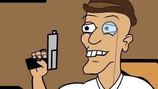 """Tom and Dan Toons! - Season #2 - Episode #9 - """"British Chris"""""""