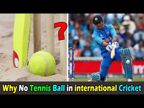 Why Tennis Ball Not Used To Play International Cricket Only Deuce Ball