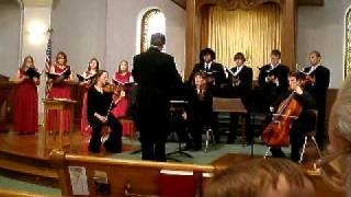 Olivet College Chamber Choir Magnificat in C