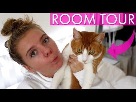 MY ROOM TOUR 2018 - ANNA MAYNARD FT MY CAT