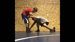 The Georgi Ivanov Wrestling - Ankle Sweep to a Fireman's Carry