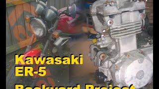 kawasaki er 500 episode 29 parts cleaning