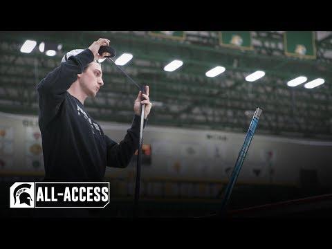 Michigan State Hockey Vs Northern Michigan | Spartans All-Access | October 11, 2019