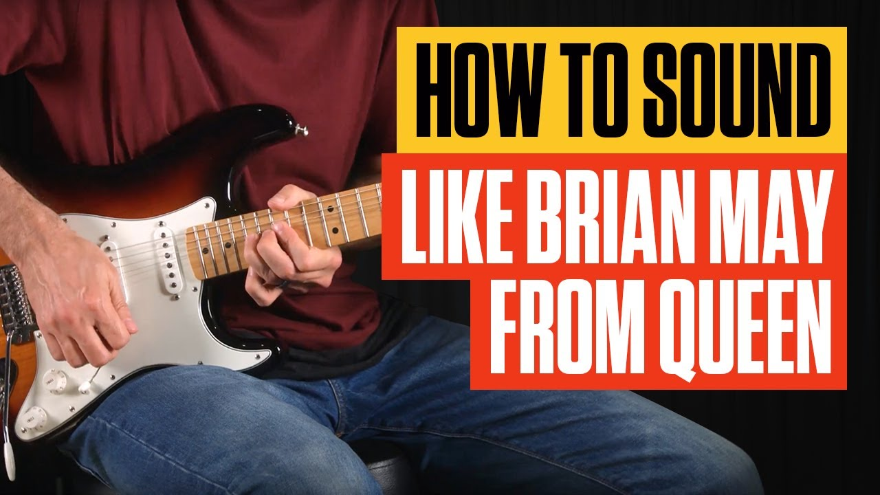How To Sound Like Brian May From Queen Gear Tone Guitar Lesson Vox V847 Wahwah Analysis Tricks