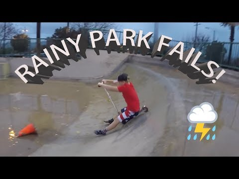FUNNY KIDS IN RAINY STORM AT PARK FAILS (Throwback Thursday)
